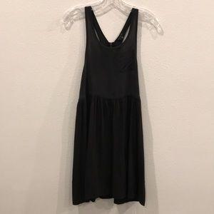 Theory silk cotton dress